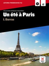Un  ete a paris (nivel a2 / b1)  (+cd) - Aa. Vv.