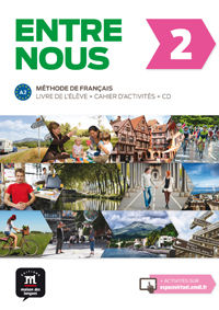 ENTRE NOUS 2 (A2) (+CAHIER) (+AUDIO-CD)