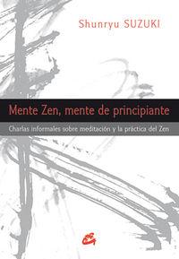 Mente Zen, Mente De Principiante - Shunryu Suzuki