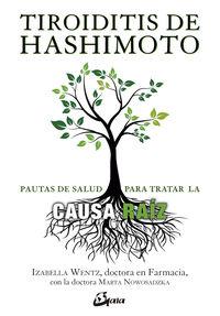 TIROIDITIS DE HASHIMOTO - PAUTAS PARA TRATAR LA CAUSA RAIZ