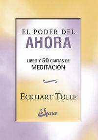 Poder Del Ahora, El - 50 Cartas De Meditacion - Eckhart Tolle