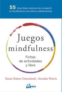 (pack) Juegos Mindfulness - Fichas De Actividades Y Libro - Susan Kaiser Greenland / Annaka Harris