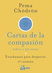CARTAS DE LA COMPASION - ENSEÑANZAS PARA DESPERTAR EL CORAZON (LIBRO + CARTAS)