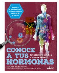 CONOCE A TUS HORMONAS - DESCUBRE EL MUNDO SECRETO DE LOS MENSAJEROS QUIMICOS DE TU CUERPO