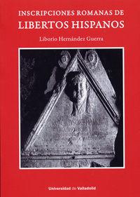 INSCRIPCIONES ROMANAS DE LIBERTOS HISPANOS