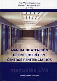 MANUAL DE ATENCION DE ENFERMERIA EN CENTROS PENITENCIARIOS