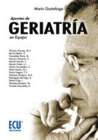 APUNTES DE GERIATRIA EN EQUIPO