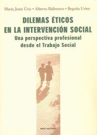 DILEMAS ETICOS EN LA INTERVENCION SOCIAL - UNA PERSPECTIVA PROFESIONAL