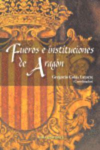 FUEROS E INSTITUCIONES DE ARAGON