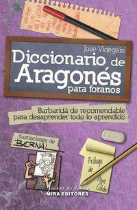 diccionario de aragones para foranos - Jose Antonio Videgain