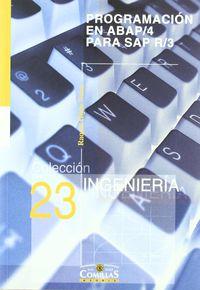 Programacion En Abap / 4 Para Sap R / 3 - Raquel Hijon Neira