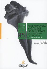 (2 ED) MATRIMONIO Y CAUSAS DE NULIDAD EN EL DERECHO DE LA I