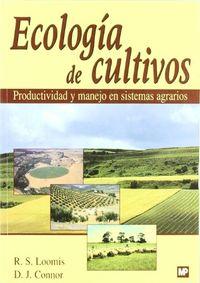 ECOLOGIA DE CULTIVOS - PRODUCTIVIDAD Y MANEJO EN SISTEMAS AGRARIOS