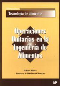 OPERACIONES UNITARIAS EN LA INGENIERIA DE ALIMENTOS