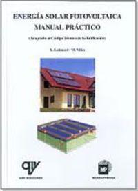 Energia Solar Fotovoltaica - Manual Practico - Anne Labouret