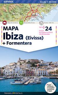 Mapa Ibiza / Formentera - Aa. Vv.
