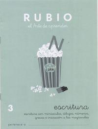 CUADERNOS ESCRITURA 3. RUBIO