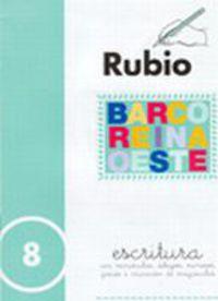 CUADERNOS ESCRITURA 8. RUBIO