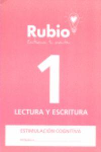 LECTURA Y ESCRITURA 1 - CUADERNO ESTIMULACION COGNITIVA