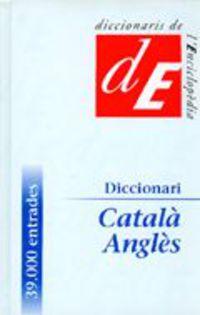 DICCIONARI CATALA / ANGLES