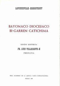 Bayonaco Diocesano Bi-Garren Catichima - P. G. Lavieuxville