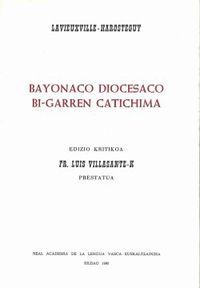 BAYONACO DIOCESANO BI-GARREN CATICHIMA