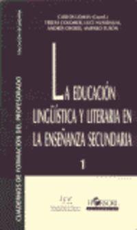 LA EDUCACION LINGUISTICA Y LITERATURA EN LA ENSEÑANZA SECUNDARIA