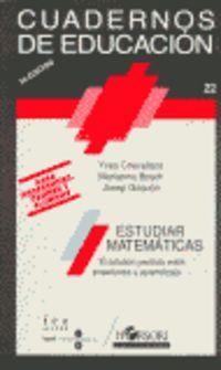 ESTUDIAR MATEMATICAS