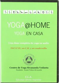 YOGA @ HOME YOGA EN CASA (+CD)