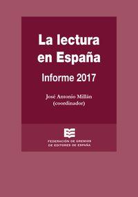 LECTURA EN ESPAÑA, LA - INFORME 2017