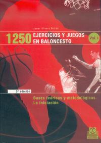 1250 EJERCICIOS Y JUEGOS EN BALONCESTO (3 TOMOS)