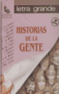 HISTORIAS DE LA GENTE