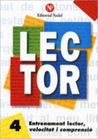 LECTOR (CATALAN)  4 - LLETRA MANUSCRITA (C. I. )