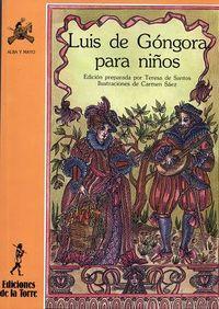 LUIS DE GONGORA PARA NIÑOS