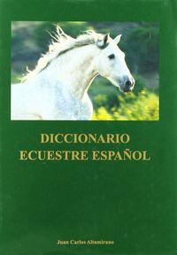 DICC. ECUESTRE ESPAÑOL