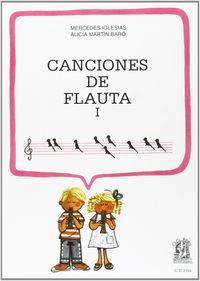 CANCIONES DE FLAUTA I