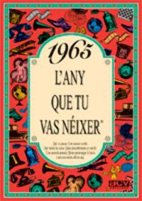1965 EL AÑO QUE TU NACISTE