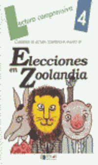 LECTURA CUAD. - ELECCIONES EN ZOOLANDIA