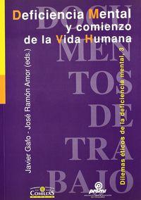 Deficiencia Mental Y Comienzo De La Vida Humana - Jose Antonio Abrisqueta