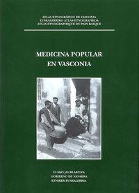 MEDICINA POPULAR EN VASCONIA