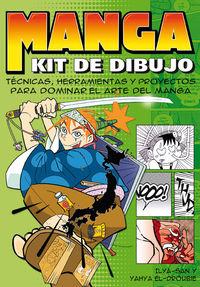 Manga - Kit De Dibujo - Ilya San / Yahya El-Droubie