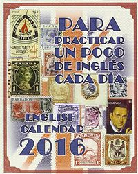 2016 Top-Calendario Ingles = English Calendar - Aa. Vv.