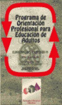 POPEA (LIBRO PROFESOR) - PROGRAMA DE ORIENTACION PARA EDUCACION DE ADULTOS