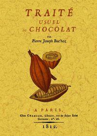 TRAITE USUEL DU CHOCOLAT