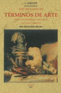Vocabulario De Terminos De Arte - Jules Adeline