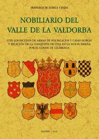 NOBILIARIO DEL VALLE DE LA VALDORBA