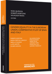 GENDER EQUALITY IN THE EUROPEAN UNION. COMPARATIVE STUDY OF SPAIN