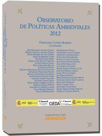 Observatorio De Politicas Ambientales 2012 - Fernando Lopez Ramon