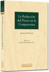 La reduccion del precio en la compraventa - Alfredo Ferrante