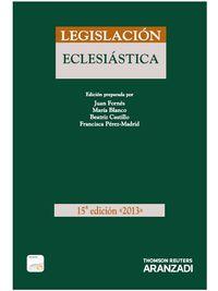 (15ª ED) LEGISLACION ECLESIASTICA (DUO)